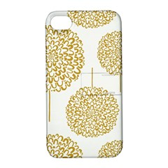 Loboloup Hydrangea Quote Floral And Botanical Flower Apple Iphone 4/4s Hardshell Case With Stand by Mariart