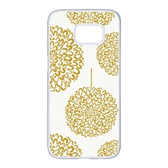 Loboloup Hydrangea Quote Floral And Botanical Flower Samsung Galaxy S7 Edge White Seamless Case by Mariart