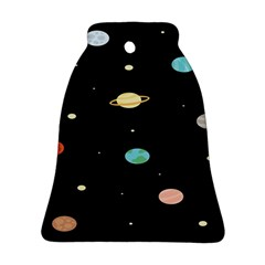 Planets Space Ornament (bell) by Mariart