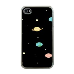 Planets Space Apple Iphone 4 Case (clear) by Mariart