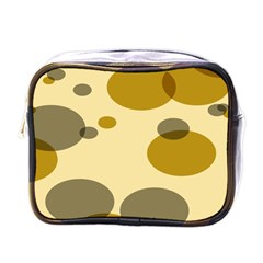 Polka Dots Mini Toiletries Bags by Mariart