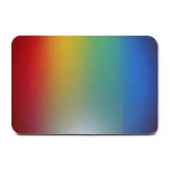 Rainbow Flag Simple Plate Mats by Mariart