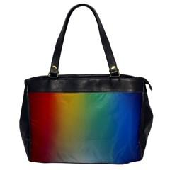 Rainbow Flag Simple Office Handbags by Mariart