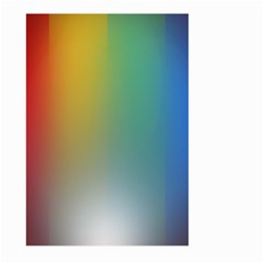 Rainbow Flag Simple Large Garden Flag (two Sides) by Mariart