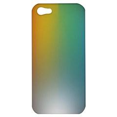 Rainbow Flag Simple Apple Iphone 5 Hardshell Case by Mariart