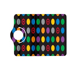 Polka Dots Rainbow Circle Kindle Fire Hd (2013) Flip 360 Case by Mariart
