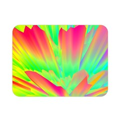 Screen Random Images Shadow Green Yellow Rainbow Light Double Sided Flano Blanket (mini)  by Mariart