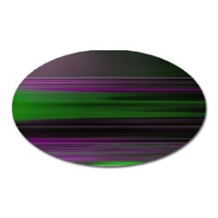 Screen Random Images Shadow Oval Magnet by Mariart