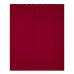 Burgundy Solid Color  Shower Curtain 60  X 72  (medium)  by SimplyColor