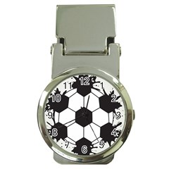 Soccer Camp Splat Ball Sport Money Clip Watches by Mariart