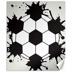 Soccer Camp Splat Ball Sport Canvas 8  X 10  by Mariart
