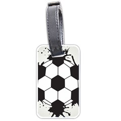 Soccer Camp Splat Ball Sport Luggage Tags (one Side)  by Mariart