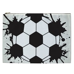 Soccer Camp Splat Ball Sport Cosmetic Bag (xxl)  by Mariart