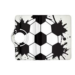 Soccer Camp Splat Ball Sport Kindle Fire Hd (2013) Flip 360 Case by Mariart