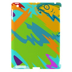 Skatepark Seaworld Fish Apple Ipad 3/4 Hardshell Case (compatible With Smart Cover) by Mariart