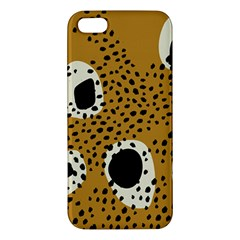 Surface Patterns Spot Polka Dots Black Iphone 5s/ Se Premium Hardshell Case by Mariart