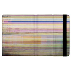 Shadow Faintly Faint Line Included Static Streaks And Blotches Color Apple Ipad 3/4 Flip Case by Mariart