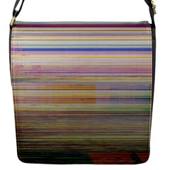 Shadow Faintly Faint Line Included Static Streaks And Blotches Color Flap Messenger Bag (s) by Mariart