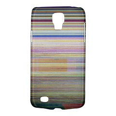 Shadow Faintly Faint Line Included Static Streaks And Blotches Color Galaxy S4 Active by Mariart