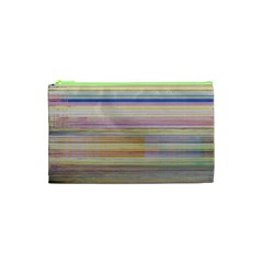 Shadow Faintly Faint Line Included Static Streaks And Blotches Color Cosmetic Bag (xs) by Mariart
