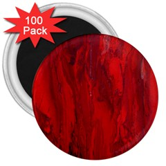 Stone Red Volcano 3  Magnets (100 Pack) by Mariart