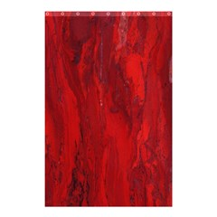 Stone Red Volcano Shower Curtain 48  X 72  (small)  by Mariart