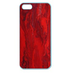 Stone Red Volcano Apple Seamless Iphone 5 Case (color) by Mariart