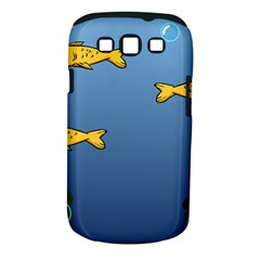 Water Bubbles Fish Seaworld Blue Samsung Galaxy S Iii Classic Hardshell Case (pc+silicone) by Mariart
