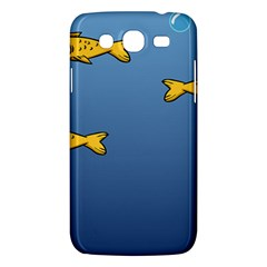 Water Bubbles Fish Seaworld Blue Samsung Galaxy Mega 5 8 I9152 Hardshell Case  by Mariart
