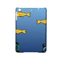 Water Bubbles Fish Seaworld Blue Ipad Mini 2 Hardshell Cases by Mariart
