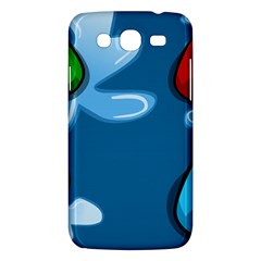 Water Balloon Blue Red Green Yellow Spot Samsung Galaxy Mega 5 8 I9152 Hardshell Case  by Mariart