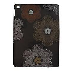 Walls Medallion Floral Grey Polka Ipad Air 2 Hardshell Cases by Mariart