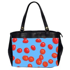 Tomatoes Fruite Slice Red Office Handbags (2 Sides)  by Mariart
