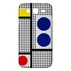 Watermark Circle Polka Dots Black Red Yellow Plaid Samsung Galaxy Mega 5 8 I9152 Hardshell Case  by Mariart