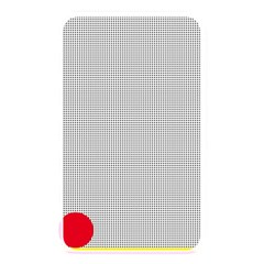 Watermark Circle Polka Dots Black Red Memory Card Reader by Mariart