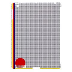 Watermark Circle Polka Dots Black Red Apple Ipad 3/4 Hardshell Case (compatible With Smart Cover) by Mariart