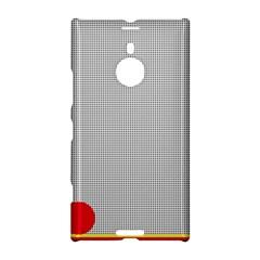 Watermark Circle Polka Dots Black Red Nokia Lumia 1520 by Mariart