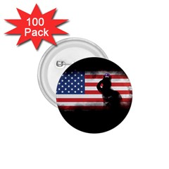 Honor Our Heroes On Memorial Day 1 75  Buttons (100 Pack)  by Catifornia