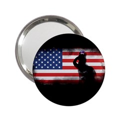 Honor Our Heroes On Memorial Day 2 25  Handbag Mirrors by Catifornia