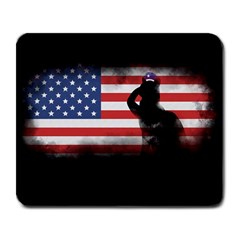 Honor Our Heroes On Memorial Day Large Mousepads by Catifornia