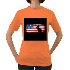 Honor Our Heroes On Memorial Day Women s Dark T Shirt by Catifornia