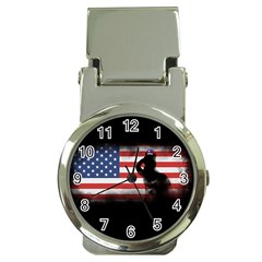 Honor Our Heroes On Memorial Day Money Clip Watches by Catifornia