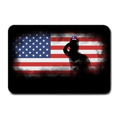 Honor Our Heroes On Memorial Day Plate Mats by Catifornia