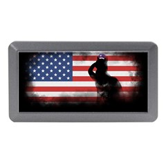 Honor Our Heroes On Memorial Day Memory Card Reader (mini) by Catifornia
