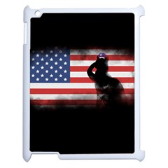 Honor Our Heroes On Memorial Day Apple Ipad 2 Case (white) by Catifornia