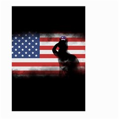 Honor Our Heroes On Memorial Day Large Garden Flag (two Sides) by Catifornia
