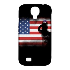 Honor Our Heroes On Memorial Day Samsung Galaxy S4 Classic Hardshell Case (pc+silicone) by Catifornia