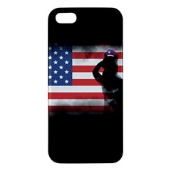 Honor Our Heroes On Memorial Day Iphone 5s/ Se Premium Hardshell Case by Catifornia