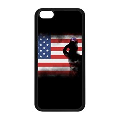 Honor Our Heroes On Memorial Day Apple Iphone 5c Seamless Case (black) by Catifornia