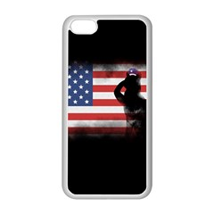 Honor Our Heroes On Memorial Day Apple Iphone 5c Seamless Case (white) by Catifornia